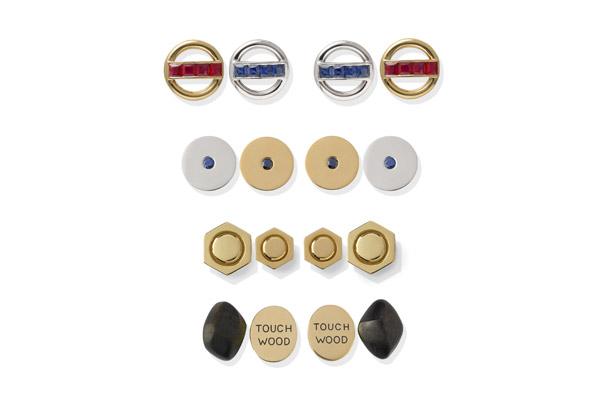 Assorted cufflinks