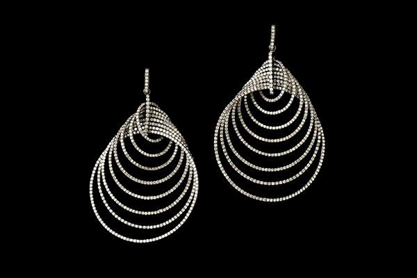 Earrings by Harry Fane