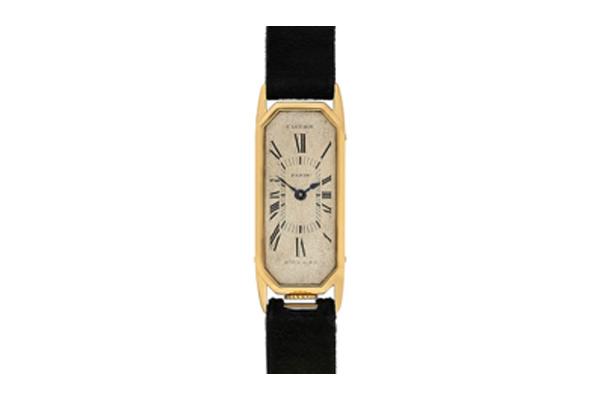 Octagonal Lady's Allongé Wrist Watch, circa 1929 - 1930